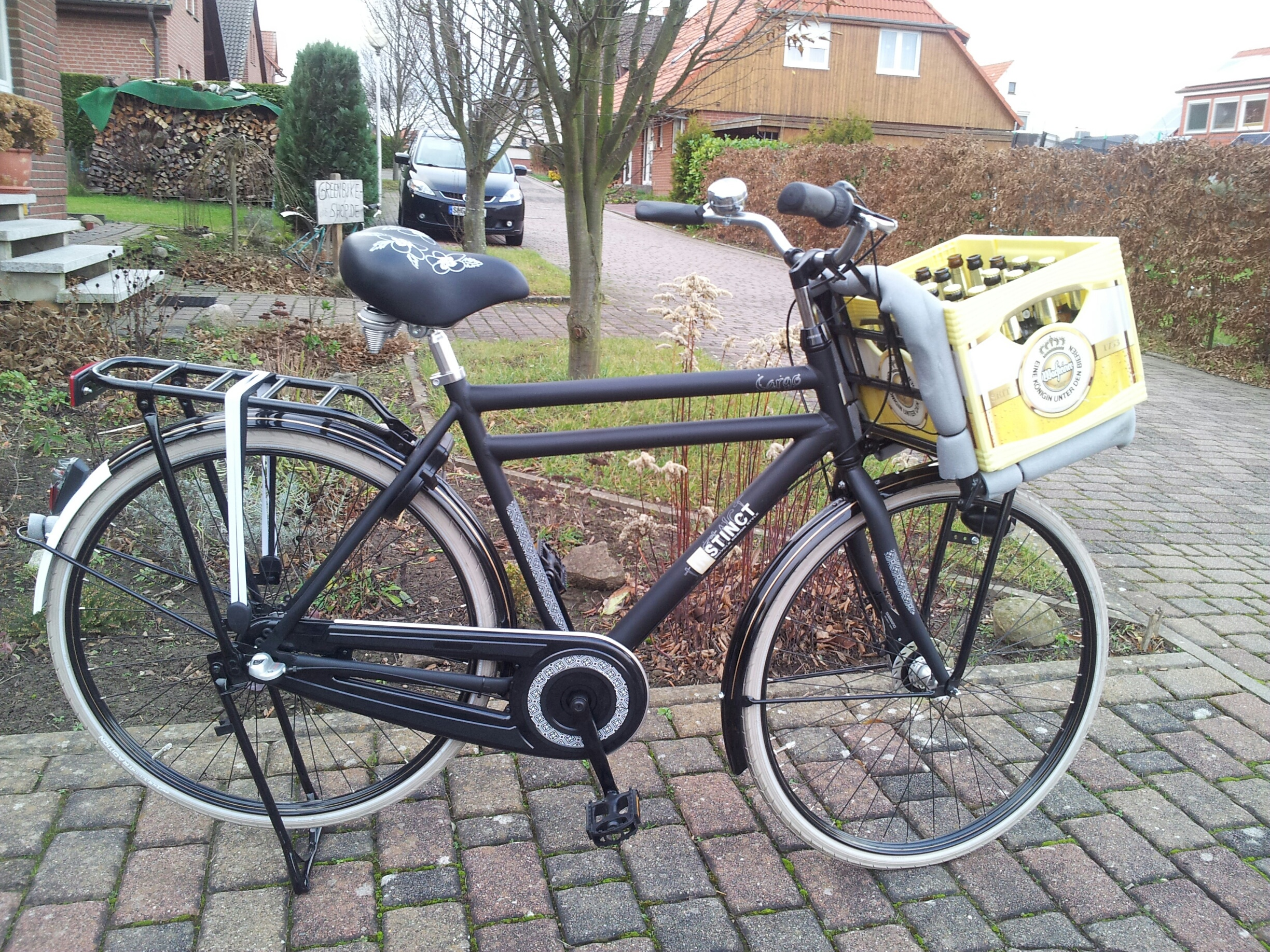 Unser Herren Hollandrad also Cargobike/Lastenrad Version