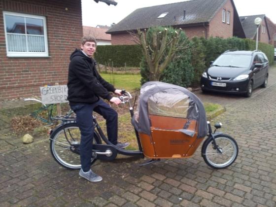 Babboe Lastenräder aus Holland