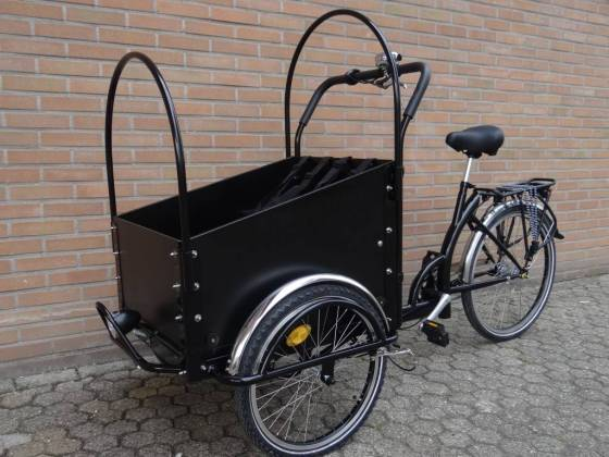 Auch typisch für Holland: Die Cargobikes/Transporträder/Lastenräder