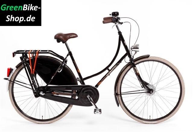 28 zoll hollandrad mit braunem sattel das hollandrad kultiges fahrrad f r stadt und land. Black Bedroom Furniture Sets. Home Design Ideas
